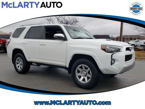 Pre-Owned 2016 TOYOTA 4RUNNER 4WD 4DR V6 TRAIL PREMIUM
